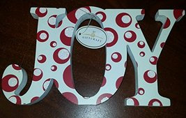 """Giftcraft Christmas """"JOY"""" Standing or Hanging Sign - $14.95"""