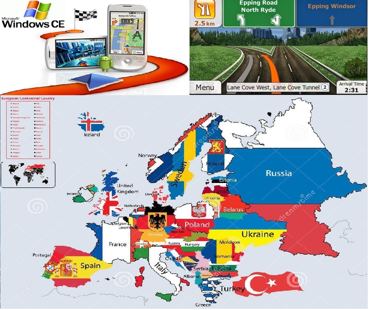 download igo europe maps