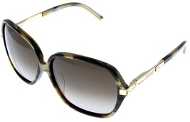 Gianfranco Ferre Sunglasses Women Brown Yellow Gold Rectangular GF910 04  - $68.31