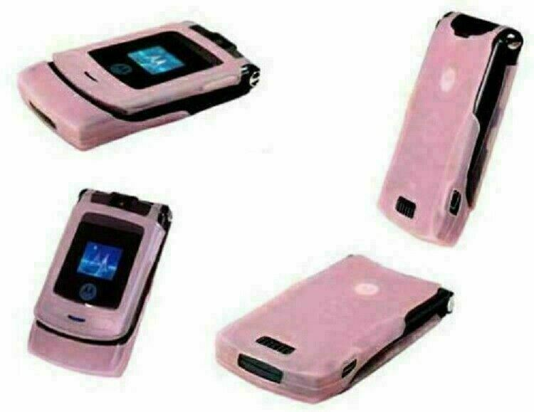 Authentic ORIGINAL Motorola V3i Pinky Flip 100% UNLOCKED 2G Cell Phone WARRANTY image 3