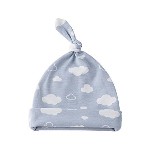 Cloud,Pure Cotton Comfortable Ventilate Lovely Children Cap/Kid Hat(Blue)