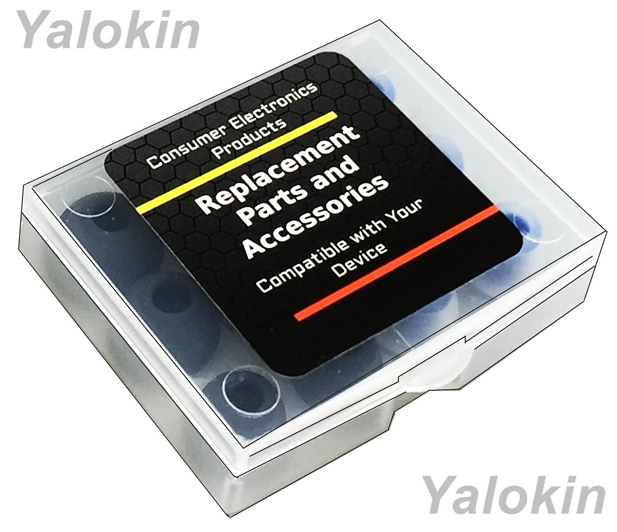 505422e05c5 8pcs (BMF-BP) Medium Memory Foam & Silicone Tips for Jaybird X3,