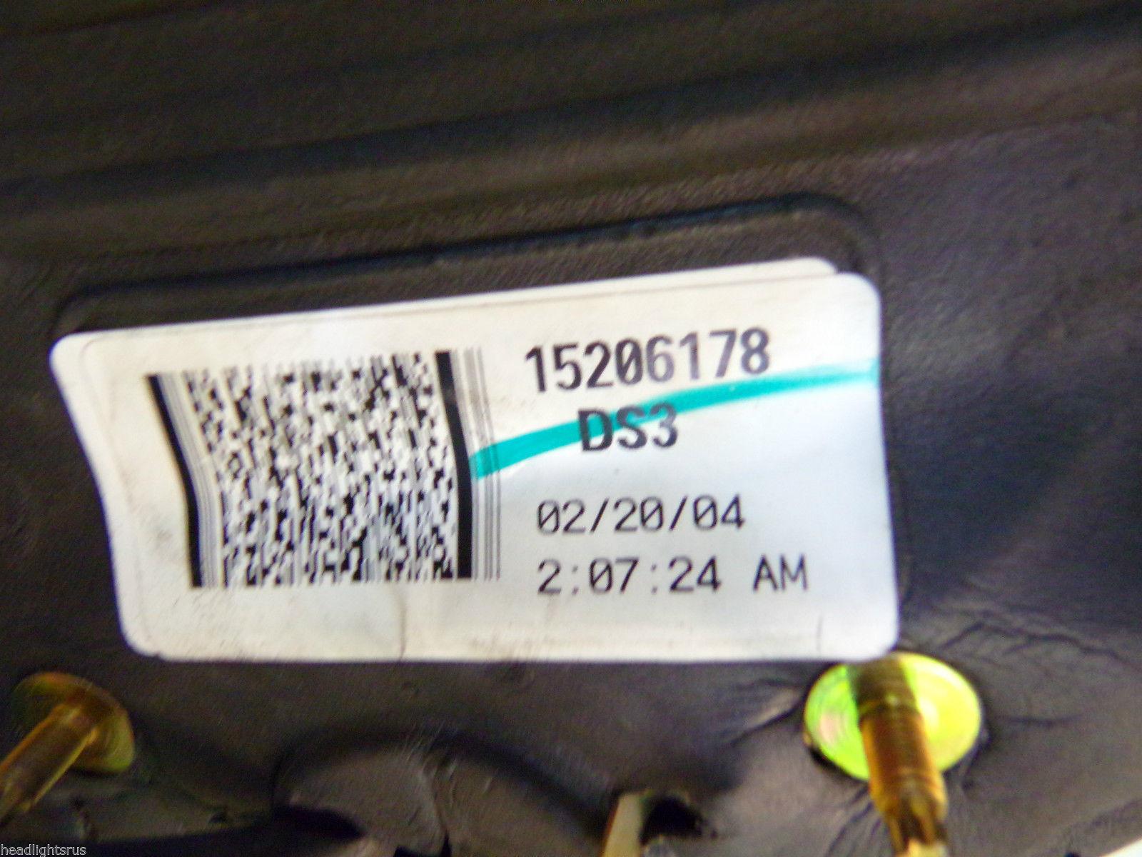 2002 2003 2004 2005 2006 TRAILBLAZER DRIVER LH POWER DOOR MIRROR OEM 6425 32