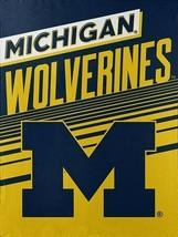 "Michigan Wolverines 60"" x 80"" Micro-Raschel Throw Blanket - $34.60"