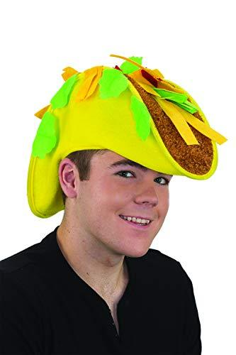 Primary image for Jay Hats Funny Halloween/ Costume Hat - Unisex Adult Felt Taco Hat