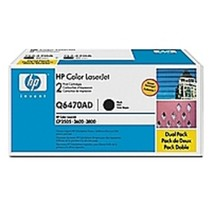 HP Q6470AD 501A Laser Toner Cartridge for LaserJet Q6470A - 6000 Page Yield - 2- - $230.21