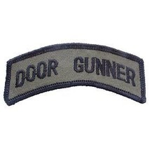 ARMY DOOR GUNNER SHOULDER ROCKER TAB EMBROIDERED MILITARY PATCH - $15.33