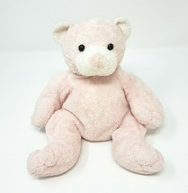 Ty Pluffies 2003 Baby Pink Pudder Teddy Bear Stuffed Animal Plush Toy Lovey - $23.38