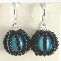 Earrings Antica Murrina Venezia with Murano Glass OR541A07 round Hanging image 1