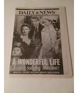 DEATH OF JIMMY STEWART - NEW YORK DAILY NEWS NEWSPAPER - FREE SHIPPING - $14.03