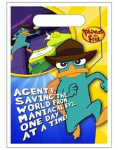 Phineas & Ferb Agent P Saving The World Favor Treat Bags Party Supplies ... - $2.92