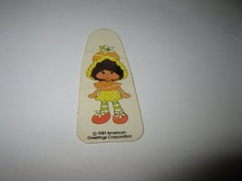 1981 Strawberry Shortcake 'Berry Go Round' Board Game Piece: Orange Blossom - $1.00