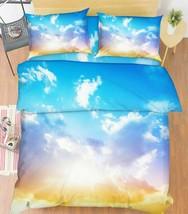 3D Sunshine White Cloud KER1736 Bed Pillowcases Quilt Duvet Cover Double... - $72.00+