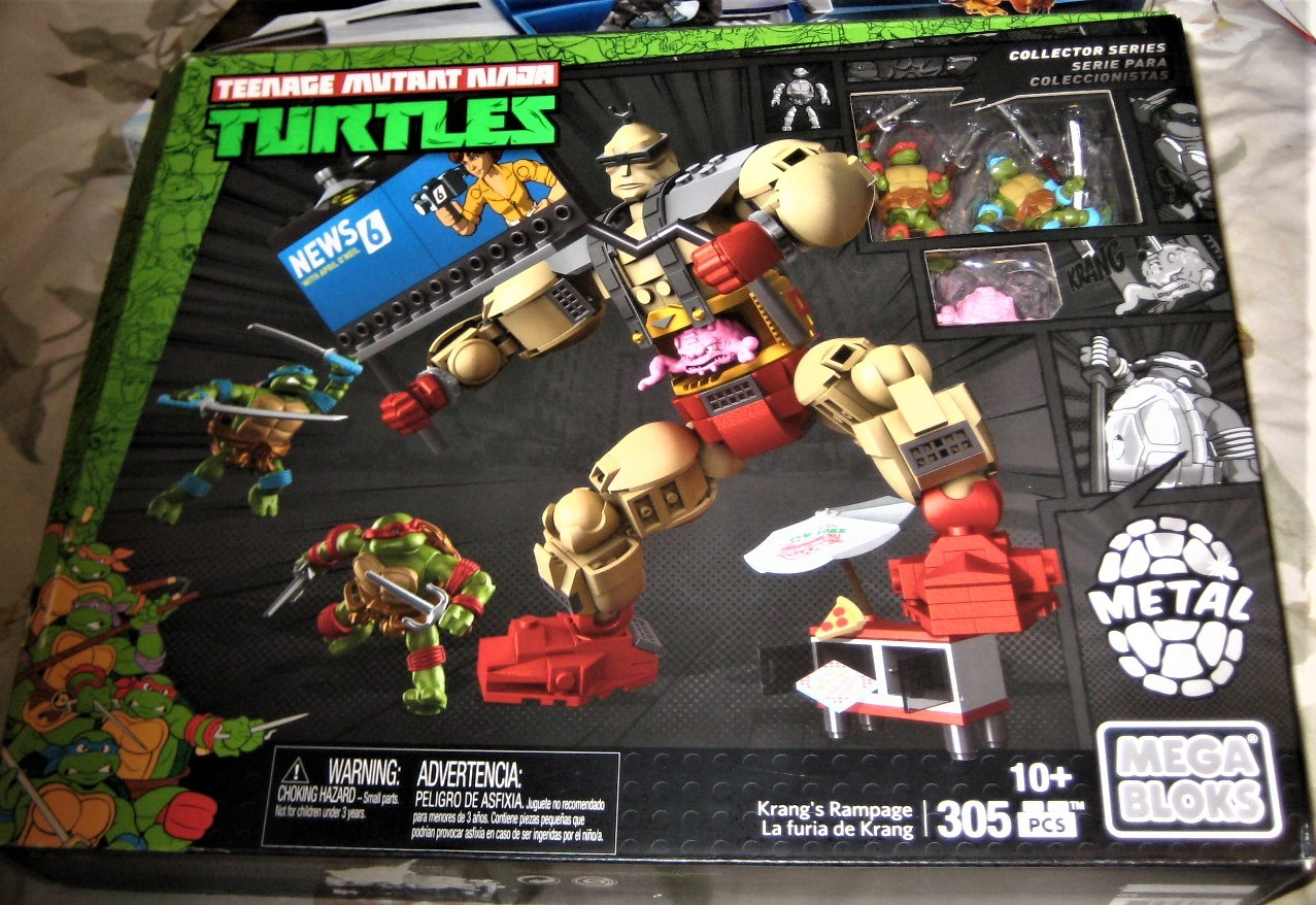 Mega Bloks - Teenage Mutant Ninja Turtles Krang's Rampage Set (new)