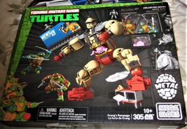 Mega Bloks - Teenage Mutant Ninja Turtles Krang's Rampage Set (new) image 1