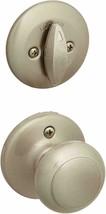 Kwikset 604CV 15 96040-123 Cove Single Cylinder Interior Pack Knob Satin Nickel - $22.50