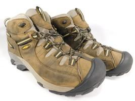 Keen Targhee II Mid Top Size 12 M (D) EU 46 Mens WP Hiking Boots Brown 1002375