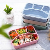4-Grid Bento Box Microwave Bento Lunch Box Healthy Material Food container - $6.72+