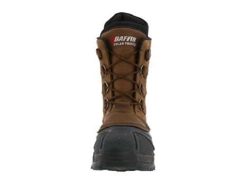 Baffin Control Max Insulated Leather Snow Boots - Mens Color Brown