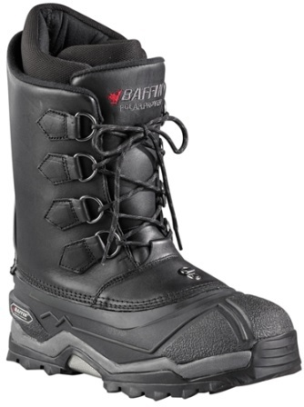 Baffin Control Max Insulated Leather Snow Boots Mens Color Black