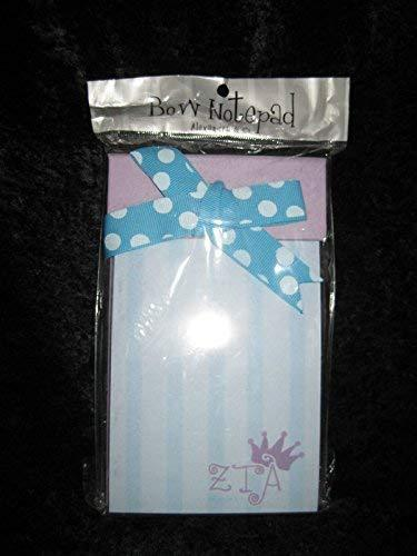 Primary image for New Zeta Tau Alpha Bow Notepad