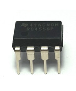 5 x Texas Instruments RC4558P - Free Shipping - New and Authentic - USA ... - $7.90