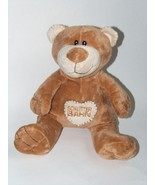 Schlitterbahn Souvenir Teddy Bear Honey Brown H... - $24.88