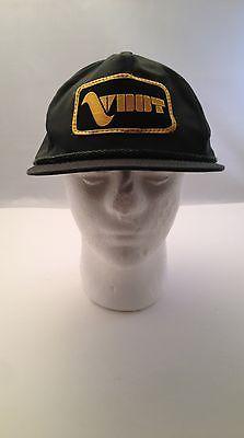 Vintage Virginia Dept of Transportation VDOT Green cap Hat One Size Trucker