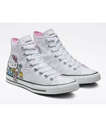 Converse x Hello Kitty Chuck Taylor All Star High-Top White Sneaker Wome... - $69.99