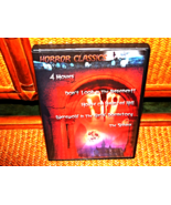HORROR CLASSICS 4 MOVIES 5 HOURS OF MONSTER MOVIES ON 1 DVD IN ORIGINAL ... - $2.00