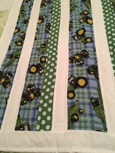 New John Deere baby quilt-handmade!
