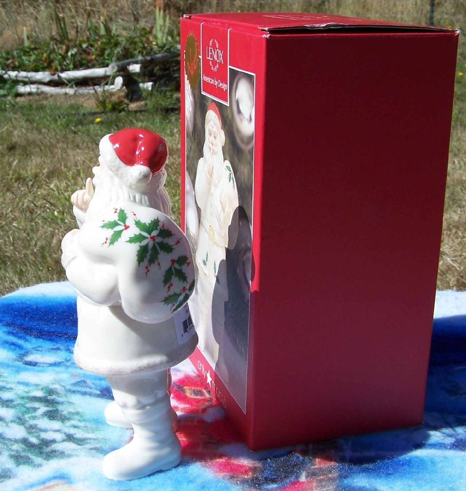 Lenox SHH... Santa Weihnachtsmann Christmas Holiday Figurine Macy's Exclusive