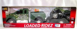 Tough Truckz Loaded Ridez 1:16 Ford F-650 with Tow Trailer & ATV 3+ Boys