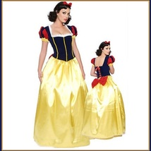 Old World Sleeping Beauty Renassiance Princess Adult Diva Halloween Costume image 1