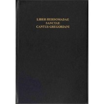Liber Hebdomadae  (Holy Week Gregorian Chant Book) - 55737