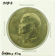 1978-D Eisenhower Dollar RATING: (VF) Very Fine (N2-4263-08) - £2.40 GBP