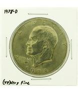 1978-D Eisenhower Dollar RATING: (VF) Very Fine (N2-4263-08) - $3.00