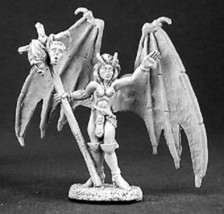 Reaper Dark Heaven Legends - LIRRIS, DEMON - 03173 Metal Mint in Box - $5.29