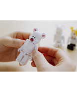 LINE Friends Character BearBrick 100% CONY Vinyl Art Toy Figure Limited ... - $28.97
