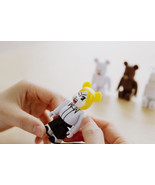 LINE Friends Character BearBrick 100% JAMES Vinyl Art Toy Figure Limited... - $28.97