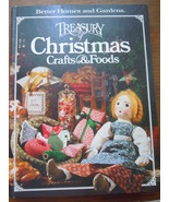Better Homes & Gardens Treasury of Christmas Crafts & Foods Hardcover - $2.99