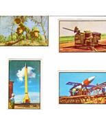 Vintage Power for Peace 4 Card Topps Cards 4 MilitaryTrading Cards)  - $3.50