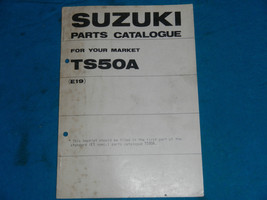 1976 76 Suzuki TS50 Ts 50 Parts Catalog Book Manual - $12.88