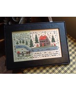 Over The River cross stitch chart Chessie & Me   - $10.80