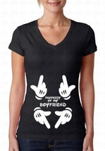 Property Of My Boyfriend Girlfriend Matching Couple V-neck T-Shirt Gift ... - $10.87+