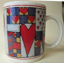 Candle Holder Mug Happy Valentines Day - $12.04