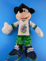 "Disneyland 2009 Mickey Mouse Plush Souvenir Doll 10"" Rare Hard to Find - $17.32"