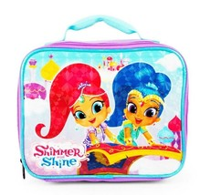 SHIMMER & SHINE Nickelodeon Girls PVC & Lead-Free Insulated Lunch Tote B... - $11.87