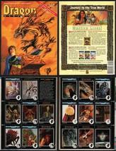 Dragon Magazine #171 w/ Rare TSR AD&D Art Card Press Sheet SIGNED Larry Elmore - $29.69