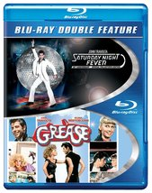 Saturday Night Fever/Grease (Blu-ray Disc, 2013, 2-Disc Set)